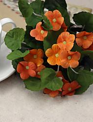 1 Une succursale Polyester Plastique Autres Fleur de Table Fleurs artificielles 20(7.8'')