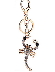 Key Chain Lobster Key Chain Gold Metal