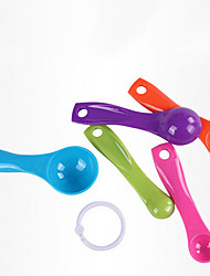 5 PCS Plastic Measuring Spoon Set