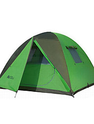 MOBI GARDEN 3-4 persons Tent Triple Automatic Tent One Room Camping Tent OxfordKeep Warm Waterproof Portable Windproof Ultraviolet
