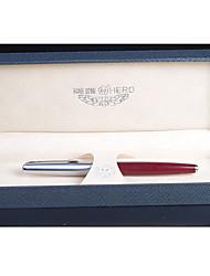 Semi-Steel 14K Gold Pen Retro Gold Pen
