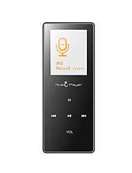 MP3/MP4Player8Go Jack 3.5mm Carte Micro SD Tactile