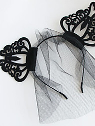 Headpiece Inspired by Cosplay Cosplay Anime Cosplay Accessories Headpiece Black Nonwoven Fabric Male / Female / Kid