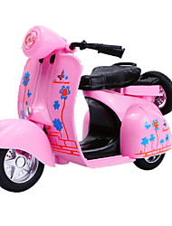 Educational Toy Model & Building Toy Motorcycle Metal Pink For Boys / For Girls