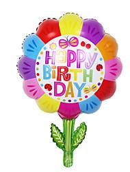 Balloons Holiday Supplies Circular Aluminium Rainbow For Boys / For Girls 5 to 7 Years