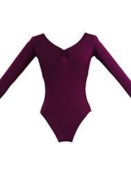 Ballet Tops Women's Children's Cotton Long Sleeve