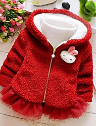 Girl Casual/Daily Solid Sweater & Cardigan,Cotton Winter / Spring Long Sleeve