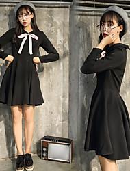 signe tache style anli hepburn vent couleur hit arc légèrement texturée taille petite robe noire