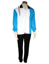 Inspirado por Prince of Tennis Cosplay Animé Disfraces de cosplay Trajes Cosplay Un Color Chaqueta Pantalones Para Hombre