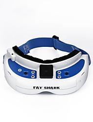 Geral Geral RC FPV Goggles / VR Branco Azul Metal 1 Peça