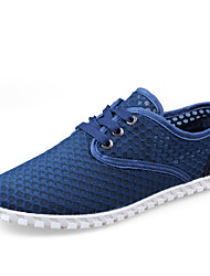 Men's Sneakers Spring / Summer / Fall / Winter Comfort Tulle Outdoor / Casual Lace-up Blue / Brown / Royal Blue Water Shoes