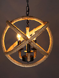 2w Pendant Light ,  Country Others Feature for LED / Designers Metal Dining Room / Study Room/Office / Entry / Game Room / Hallway