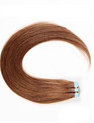 Hot Sale Tape In Human Hair Weaves Silky Straight Human Hair Extensions 20pcs/bag  100% Human Hair