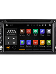 6.2 Inch 2 Din Universal Android 5.1 Car DVD GPS Player Multimedia System Wifi DAB DU6539LT