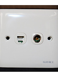 86 Switch Socket Computer  TV Socket