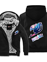 Inspirado por Fairy Tail Cosplay Animé Disfraces de cosplay sudaderas Cosplay Estampado Manga Larga Top Para Hombre Mujer Unisex