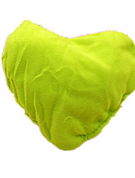 Dog Toy Pet Toys Chew Toy Squeaking Toy Squeak / Squeaking Heart Green Plush