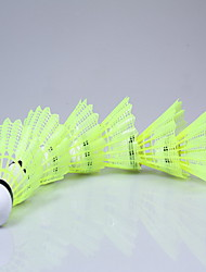 Bola de Badminton( DENailom,Amarelo Branco) -Elasticidade Alta Durabilidade