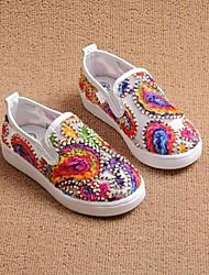 Jungen-Loafers & Slip-Ons-Lässig-KunststoffKomfort-Weiß