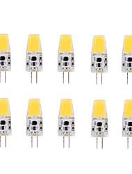 2W G4 LED a pannocchia T 1 COB 220-240 lm Bianco caldo V 10 pezzi
