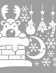 Animals / Christmas / Words & Quotes / Romance / Holiday / Shapes Wall Stickers Plane Wall Stickers,vinyl 73*63cm