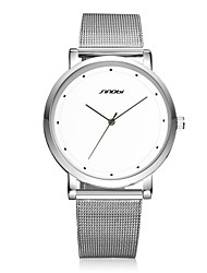 SINOBI® Men's Dress Watch Top Luxury Brand Fashion Gents Super Slim Steel Quartz-watch Males Casual Best Wrist Watch Cool Watch Unique Watch