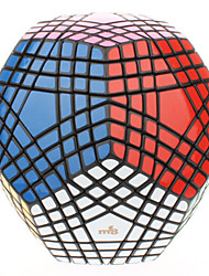 Jouets Cube de vitesse lisse 7*7*7 Megamix Nouveautés Soulage le Stress Cubes magiques Noir ABS