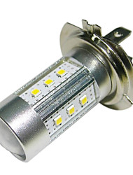 H7 15W 15x2323 SMD 1450lm 6500K lumière blanche LED pour voiture Phare (DC10 ~ 30V)