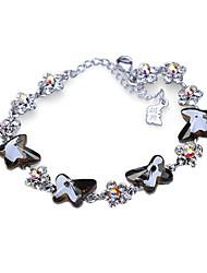 Bracelet Chaînes & Bracelets Alliage Serpent Personnalisé Anniversaire / Mariage / Soirée / Quotidien / Décontracté Bijoux Cadeau Noir,1pc