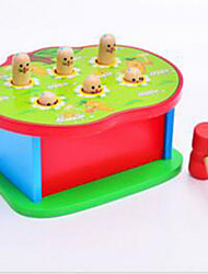 Building Blocks / Educational Toy For Gift  Building Blocks Square Wood 2 to 4 Years / 5 to 7 Years Rainbow Toys