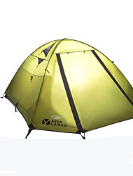 MOBI GARDEN® 3-4 persons Tent Double Automatic Tent One Room Camping Tent OxfordWaterproof Breathability Ultraviolet Resistant Rain-Proof