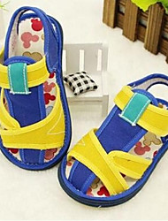 Girl's Sandals Comfort Cotton Casual Blue / Red