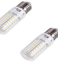 4W E26/E27 Ampoules Maïs LED T 56 SMD 5730 240 lm Blanc Froid Décorative AC 100-240 V 2 pièces
