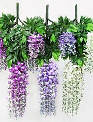 Искусственные цветы, Пластиковые растения, Полиэстер
