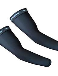 braço aquecedores Moto Confortável Protecção Unissexo Preto Terylene