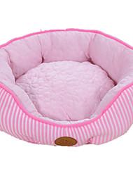 Cat / Dog Bed Pet Mats & Pads Casual/Daily Pink Textile