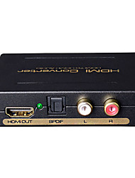 HDMI To HDMI DTS AC3 Audio Separation HDCP Decoder
