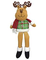 Presentes de Natal Brinquedos de Natal Decoração Para Festas Natal Tecido Vermelho Verde