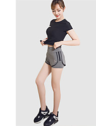 Women's Short Sleeve Running Shorts Compression Clothing Clothing Sets/Suits Breathable Quick Dry Comfortable Spring Summer Fall/Autumn