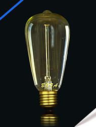 bofa ST64 13ak 25w edison antique lampe boule de soie bulle (85v-265v)
