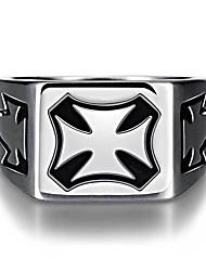 Ringe Ohne Stein Normal Schmuck Stahl Herren Ring 1 Stück,8 9 10 11 12 Silber