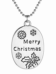 Necklace Pendant Necklaces Jewelry Daily / Christmas Gifts Single Strand Bohemia Style Alloy Women 1pc Gift Silver