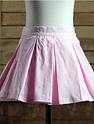 Skirt Sweet Lolita Lolita Cosplay Lolita Dress Solid Lolita Short Length Skirt For Cotton