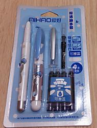Two Packaged For Sale New Ink Bag Steel Pen Set Ink Bag Pen