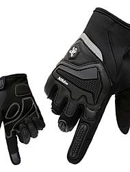 Sports Gloves Men's Cycling Gloves Spring Autumn/Fall Winter Bike Gloves Breathable Shockproof Wearproof Full-finger Gloves Lycra