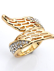 Ring / Daily Casual Jewelry Alloy Women Ring 1pc,One Size Yellow Gold