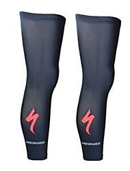 Beinlinge/Knielinge Fahhrad Leichtes Material Komfortabel Schützend Unisex Schwarz LYCRA®