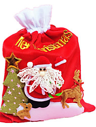 Christmas Gift Bag Three-dimensional Christmas Gift Package The Old Man Gift Bag 33*25Cm