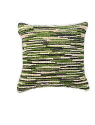 1 pcs Coton/Lin Taie d'oreiller,Texturé Euro