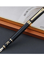Gold Folder Steel Pen Signature Pen Office Pen
